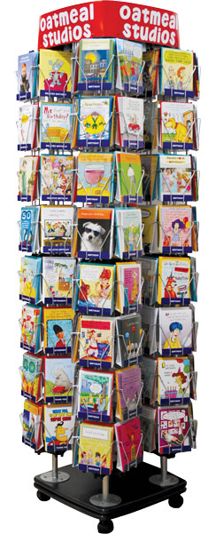 Oatmeal studios greeting cards displays card display m4hsunfo